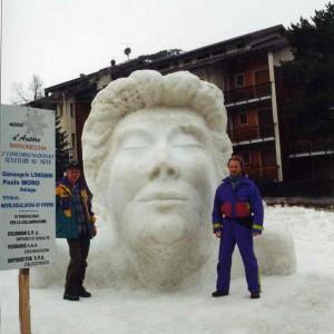 Paolo Moro Sculture su neve Bardonecchia TO 300x300