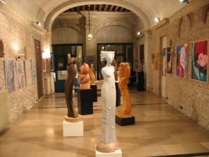 Scultore Paolo Moro. Mostra Palazzo Scotti Treviso anno 2006 300x225