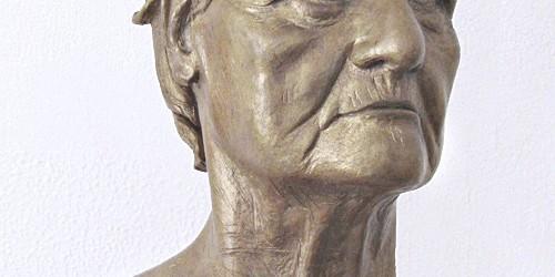 Scultore Paolo Moro. Scultura in terracotta. Titolo Antonietta