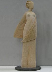 Scultore Paolo Moro. Scultura in terracotta. Titolo modella1 214x300
