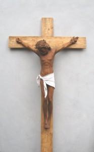 Scultore Paolo Moro. Sculture opere sacre. Crocifisso 186x300