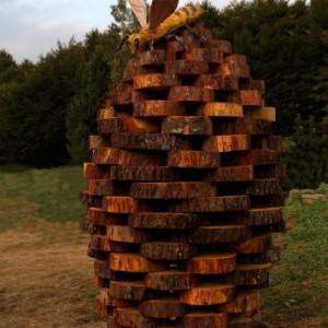 Nido . Land Art. Melere Trichiana Anno 2014 300x300
