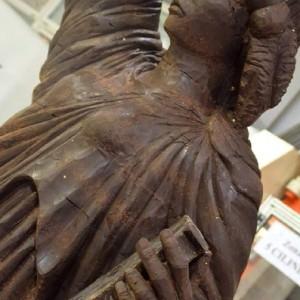 Particolare Statua della Libertà. Cioccolata Anno 2015 300x300