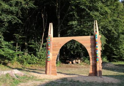 Il Portale Land Art Melere - Trichiana Anno 2015