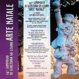 14° Simposio di scultura su legno ARTE NATALE 300x300