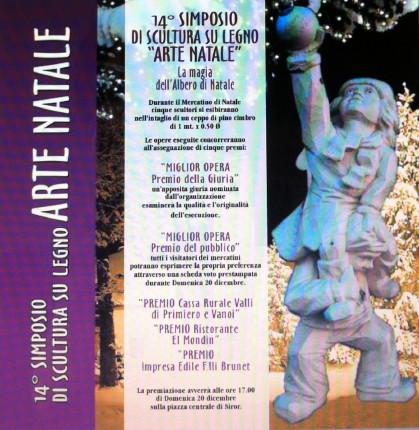 14° Simposio di scultura su legno ARTE NATALE