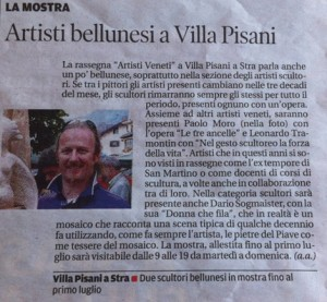 Paolo Moro Artisti bellunesi a Villa Pisani 300x277