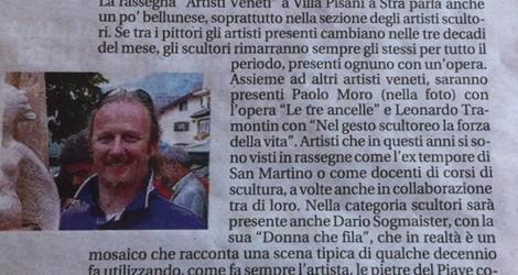 Paolo Moro-Artisti bellunesi a Villa Pisani