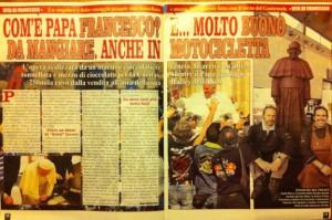 Paolo Moro Papa Francesco cioccolata 300x199