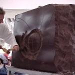Scultore Paolo Moro. Mostra Eurocioccolate Perugia anno 2000 150x150