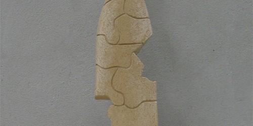Scultore Paolo Moro. Scultura in terracotta. Titolo il gioco