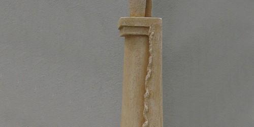 Scultore Paolo Moro. Scultura in terracotta. Titolo insieme