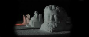 Scultore Paolo Moro. Sculture di neve. ClautPN anno 2007 300x128