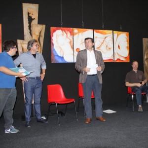Mostra a Palazzo Crepadona 2014 Senatore Giovanni Piccoli 300x300