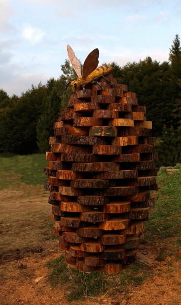 Nido. Land Art. Melere - Trichiana Anno 2014