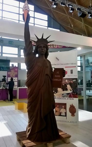 Statua della Liberta. Cioccolata Anno 2015