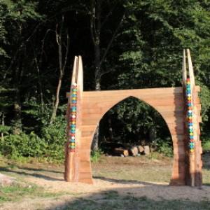 Il Portale Land Art Melere Trichiana Anno 2015 300x300