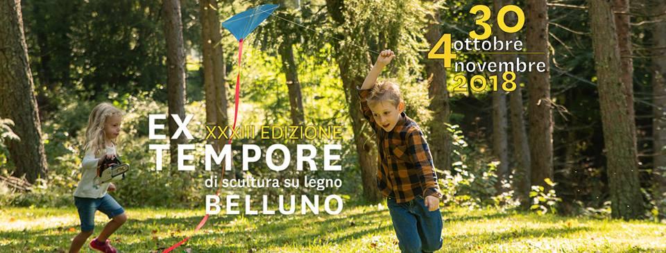 XXXIII Edizione EX Tempore di scultura su legno a Belluno