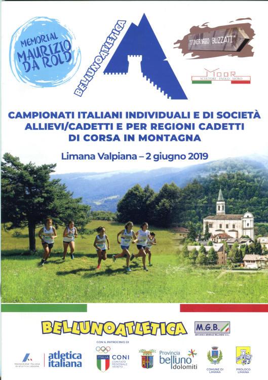 Campionati Italiani corsa in montagna Limana BL