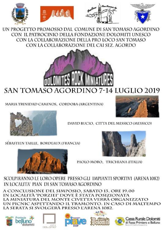 Dolomites Rock Miniatures San Tomaso Agordino BL